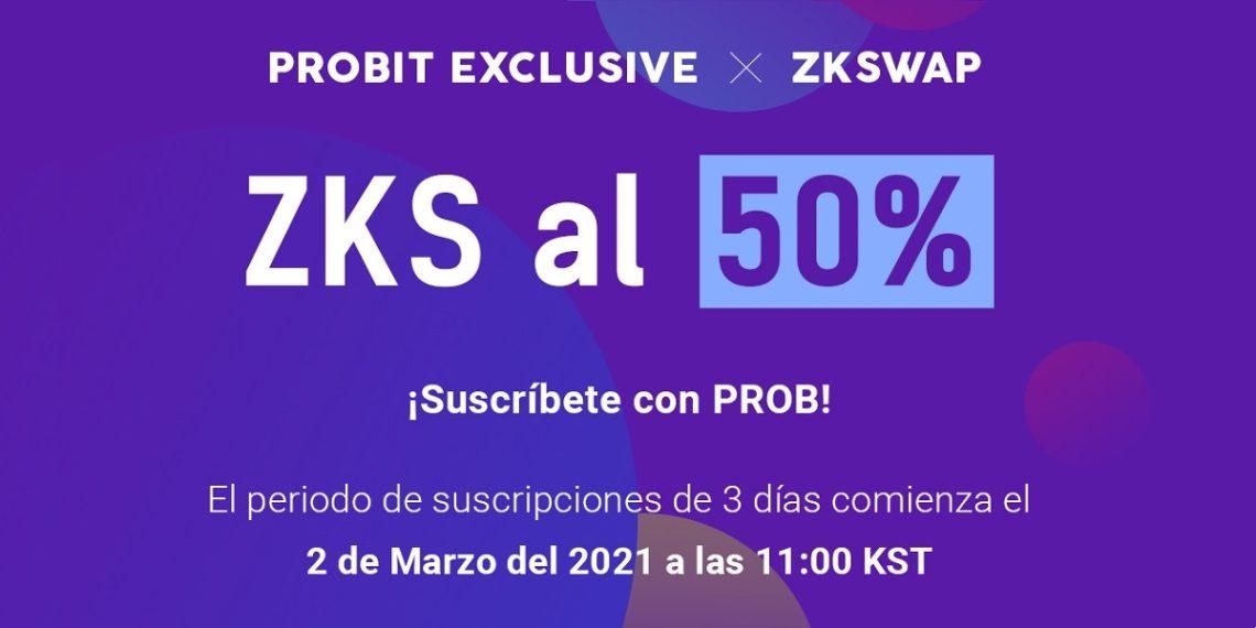 Evento Probit Exclusive en ZKSwap
