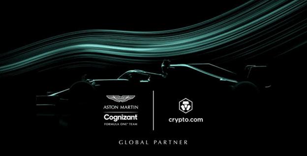 Asociacion de Crypto.com con Aston Martin Formula One Team