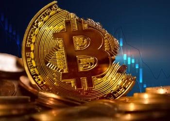 bitcoin desenso gráfico