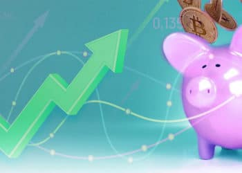 ahorro bitcoin flecha alza