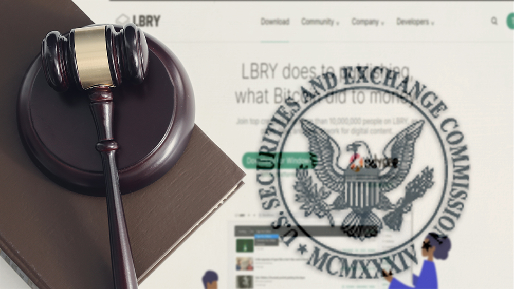 SEC estados unidos demanda LBRY