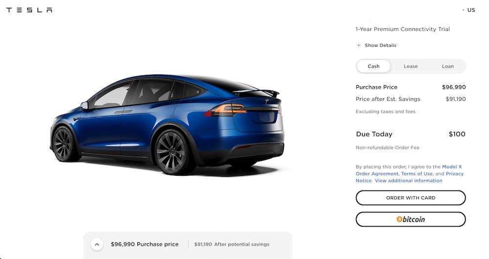 Tesla Bitcoin Automóviles Elon Musk