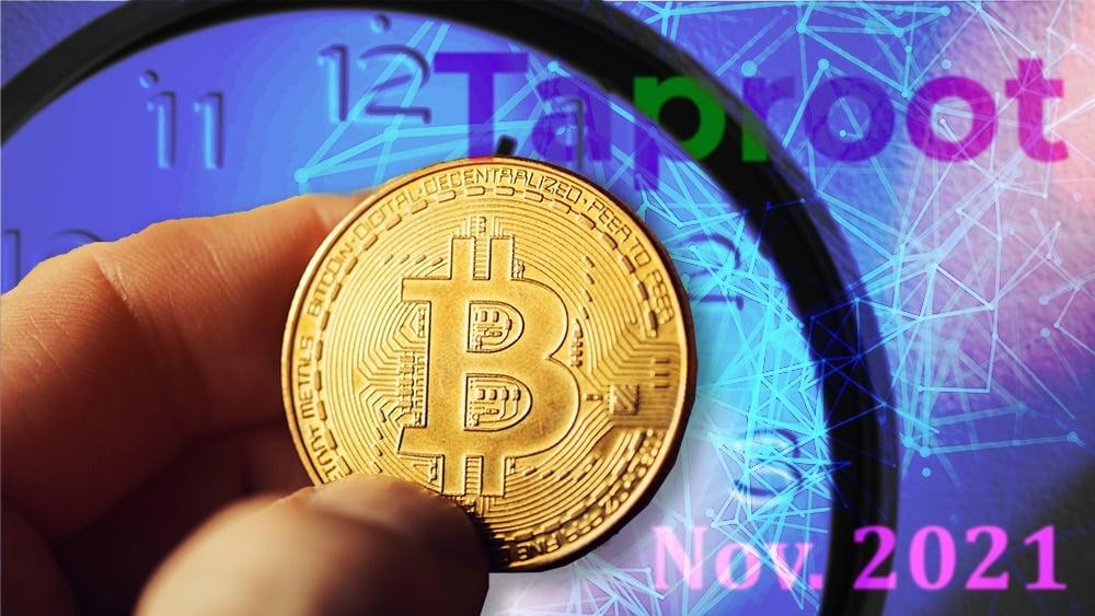 activación taproot blockchain bitcoin privacidad