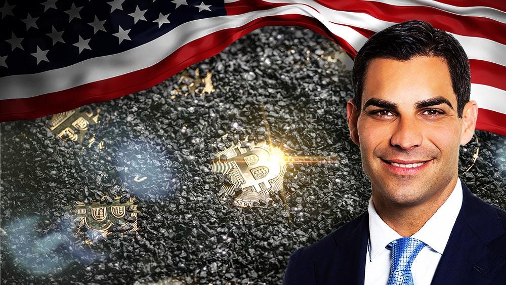 Francis Suarez miami capital minería bitcoin Estados Unidos