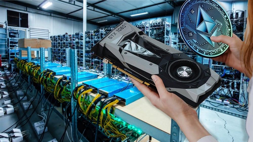 minería ethereum criptomonedas NVIDIA GPU