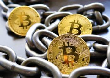 bifurcación blockchain bitcoin cadenas bloques duplicadas