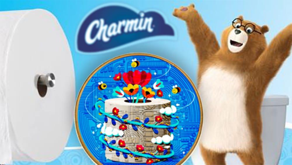 token coleccionable NFT ethereum charmin P&G