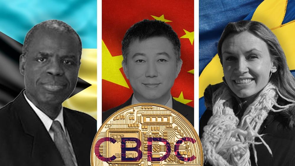 monedas digitales bancos centrales china bahamas suecia