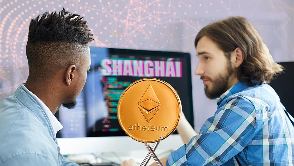 bifurcación ethereum desarrolladores shanghai