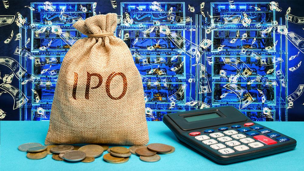 venta acciones IPO inversión minerpia criptomonedas bitcoin