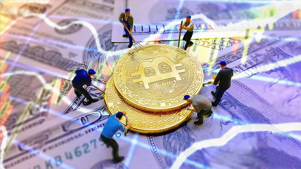 fiebre minería criptomonedas bitcoin revalorización empresas mineras