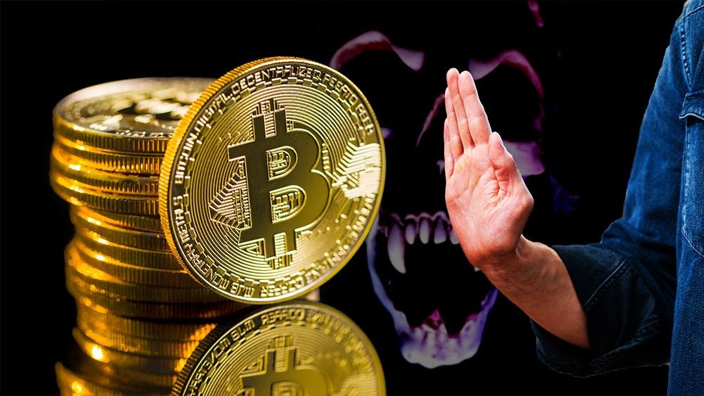 inversionista criptomoneda bitcoin rechazo