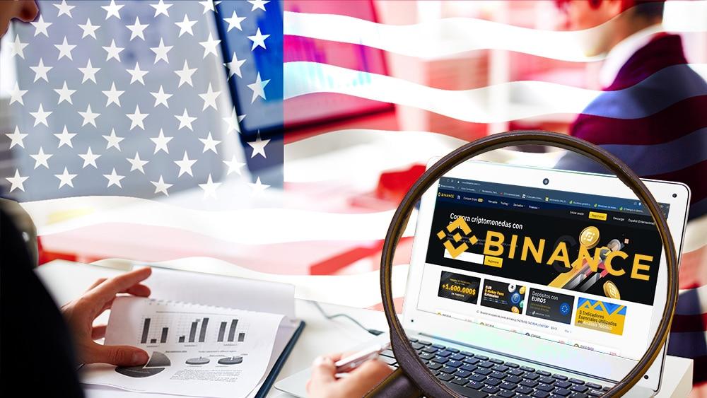 investigación Binance operaciones criptomonedas Estados Unidos