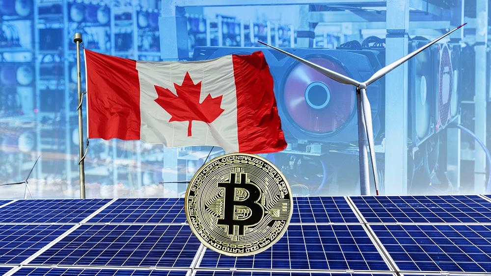 BTC criptomoneda mineros Canadá