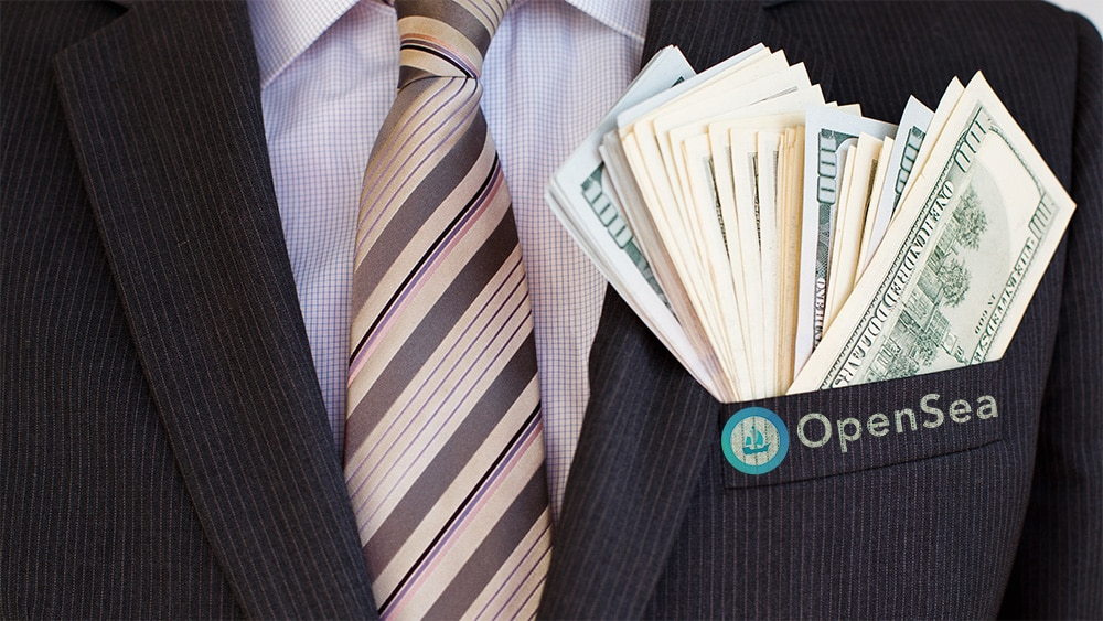 Mercado tokens NFT recauda fondos