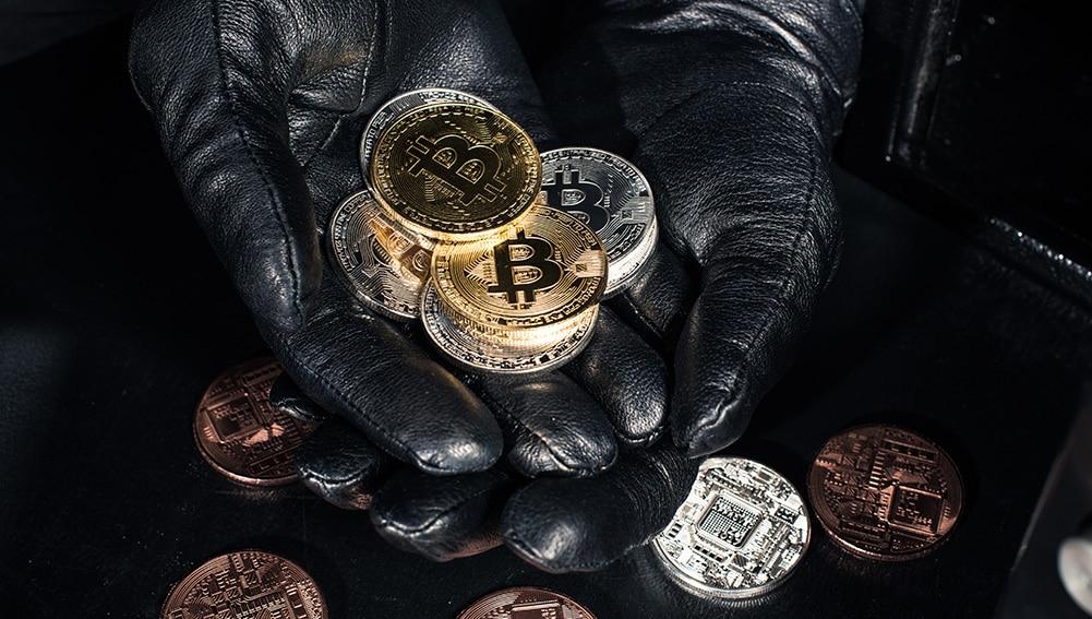 robo violencia física bitcoins