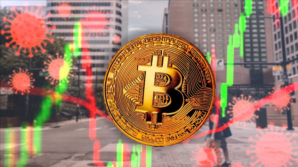 un año llegada coronavirus precio criptomoneda bitcoin