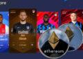 ETH criptomoneda blockchain juego