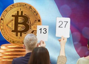 personas participan subasta bitcoins incautados francia