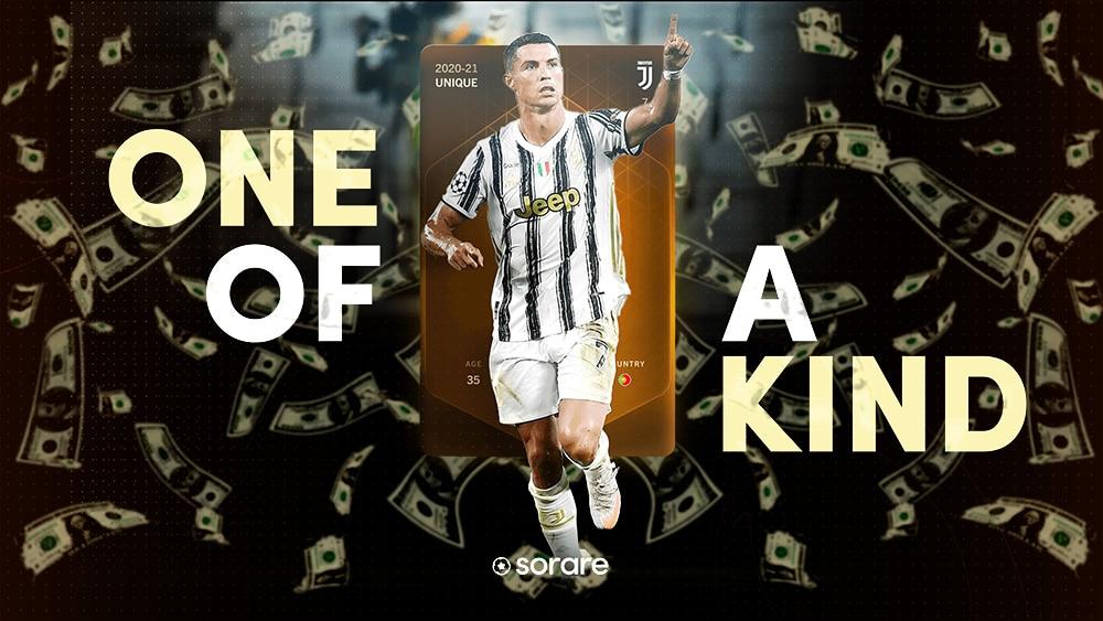 NFT coleccionable futbol cristiano ronaldo Sorare