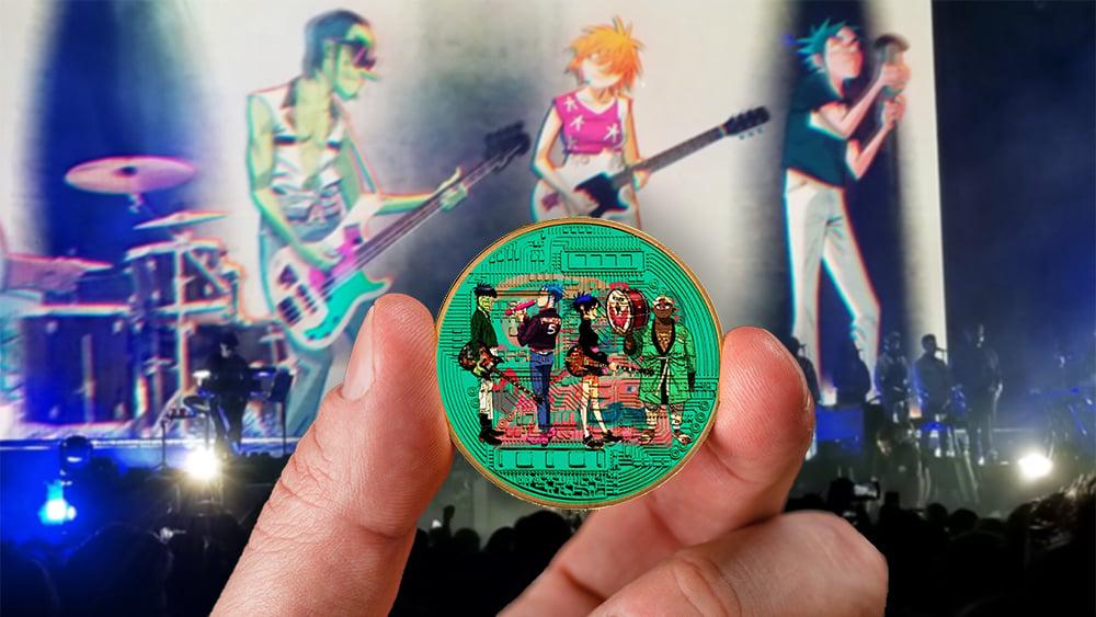tokens nft banda musical gorillaz