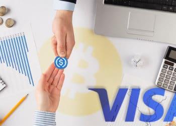 transacciones stablecoins visa criptomonedas bitcoin