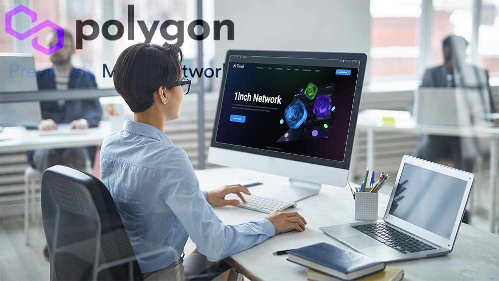 exchange descentralizado 1inch expansión polygon