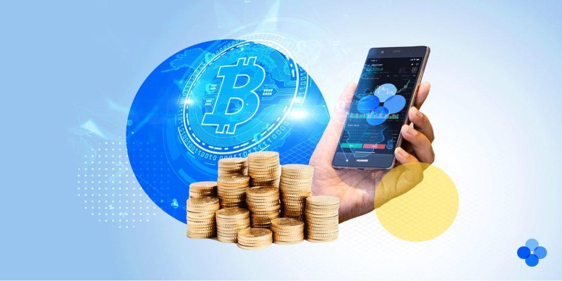 Aplicacion movil de trading del exchange OKEx