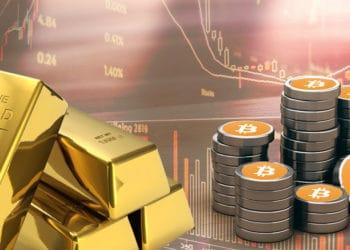 lingotes oro bitcoin