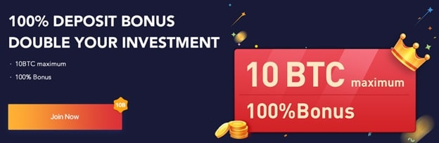 Bono de depósito del 100% en el exchange Bexplus