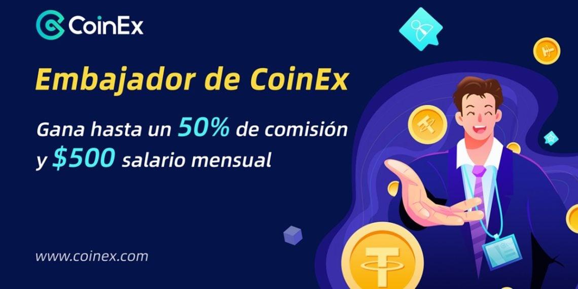 Programa de embajadores latinos de CoinEx