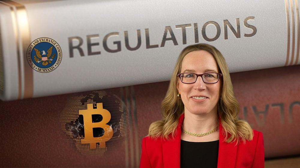 bitcoin Hester Peirce SEC