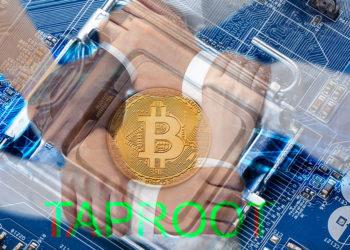 bitcoin manos entrelazadas taproot