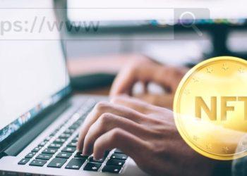 Nombres de dominios en blockchain son token NFT