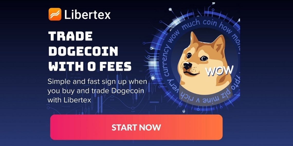 Plataforma Libertex incluye trading de Dogecoin