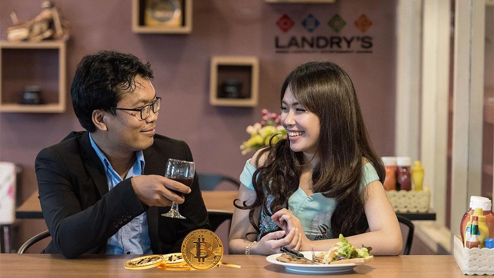 restaurant landry's pago bitcoin