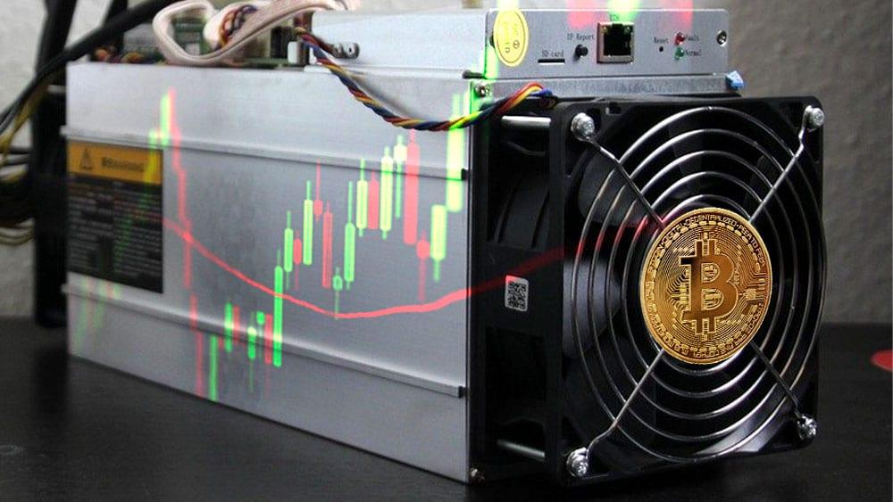 bitcoin mineria grafico