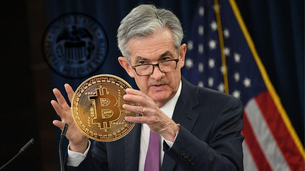 Jerome powell fed bitcoin