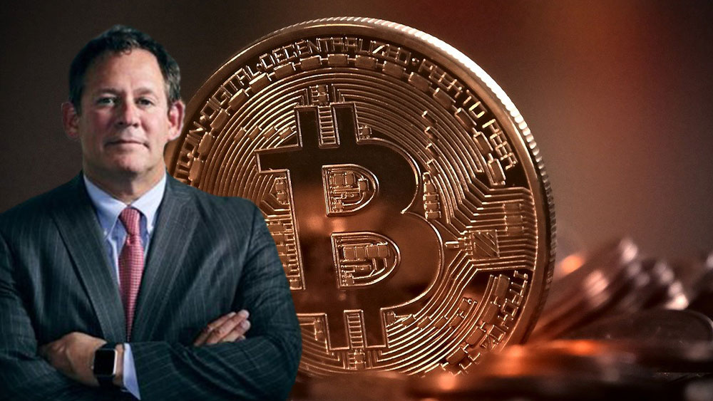 Rick Rieder con bitcoin detrpas.