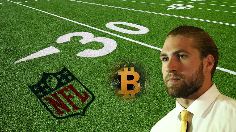 NFL bitcoin sean culkin