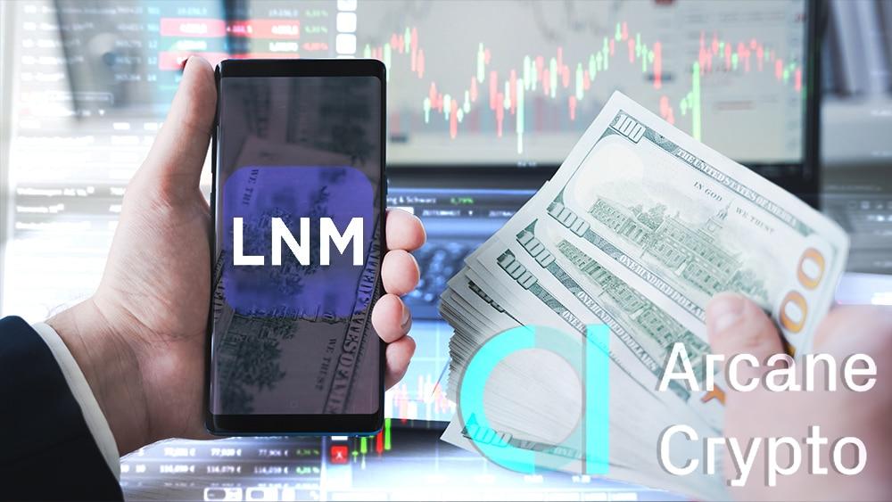 inversión casa cambio criptomonedas lightning network LNMarkets arcane crypto