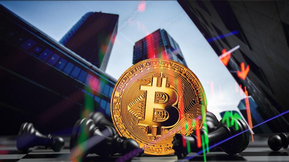 instituciones caida precio bitcoin
