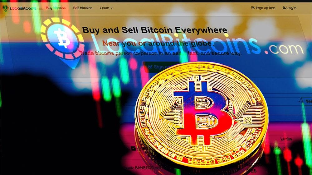 disminuye volumen comercio bitcoins venezuela localbitcoins