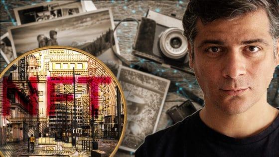 Artista español subastará fotografía de la Gran Vía  de Madrid como un NTF