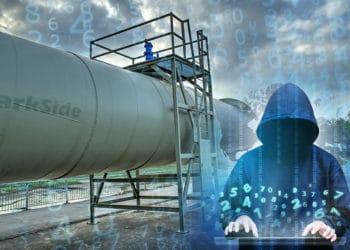 Oleoducto con códigos y un hacker.