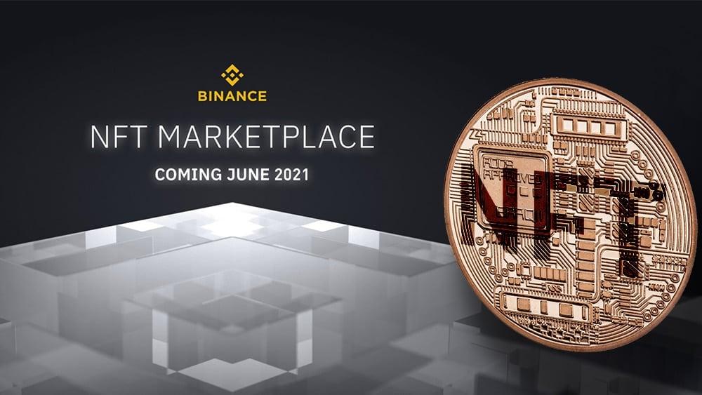 mercado comercio tokens NFT binance