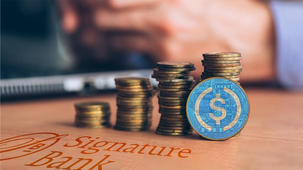 resrevas stablecoin USDC circle signature bank