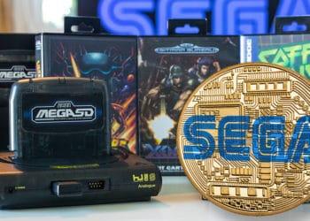 tokens coleccionables NFT empresa videojuegos sega