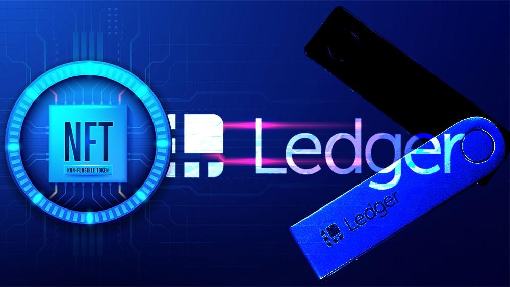 tokens coleccionables NFT Ledger Wallet