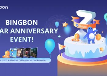 Exchange Bingbon celebra tercer aniversario